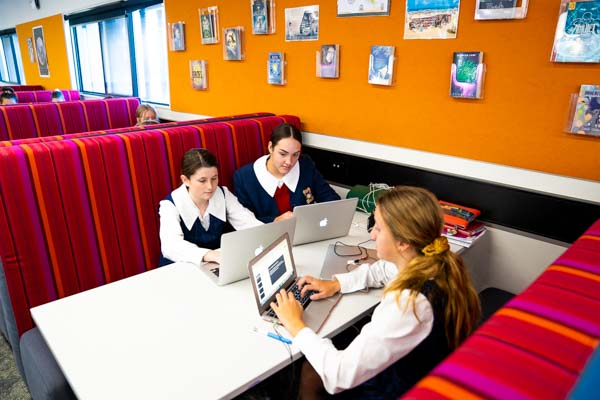 Our Lady of Mercy Catholic College Buraneer - School Life - Library